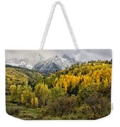 Fall Color In The Rockies Near Ouray Dsc07913 Weekender Tote Bag