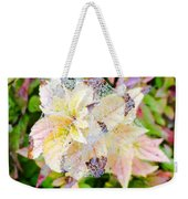Fall Color On A Foggy Day 4 Weekender Tote Bag