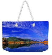 Fall Color Oxbow Bend Grand Tetons National Park Wyoming Weekender Tote Bag
