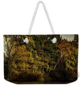 Fall Color Trees V8 Pano Weekender Tote Bag