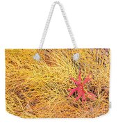 Fall Colored Horsetail And Fireweed  Weekender Tote Bag