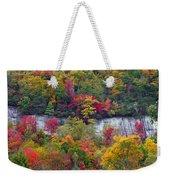 Fall Colors Along Tanasee Road Weekender Tote Bag