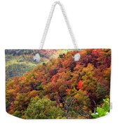 Fall Colors Along The Blueridge Weekender Tote Bag