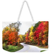 Fall Colors Along The Blueridge Parkway Weekender Tote Bag