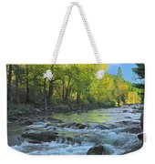 Fall Colors And The Little Salmon River Weekender Tote Bag