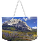 Fall Colors At Gunnison National Forest Weekender Tote Bag