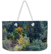 Fall Colors By The Spokane River Weekender Tote Bag