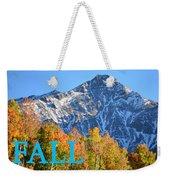 Fall Colors Cover Work Weekender Tote Bag