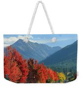 Fall Colors In Joseph Or Weekender Tote Bag