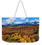 Fall Colors In Ridgway Colorado Weekender Tote Bag