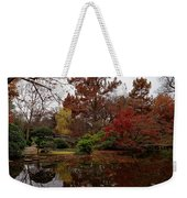 Fall Colors In The Garden Weekender Tote Bag