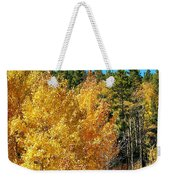 Fall Colors On The Colorado Aspen Trees Weekender Tote Bag