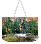 Fall Colors On The  Tahquamenon River   Weekender Tote Bag