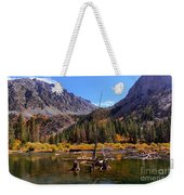 Fall Colours Reflection Weekender Tote Bag