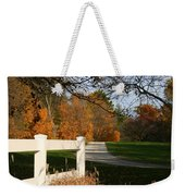 Fall Comes To The Hollow Weekender Tote Bag