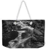 Fall Creek Flow II Weekender Tote Bag