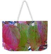 Fall Dogwood Leaf Colors 1 Weekender Tote Bag