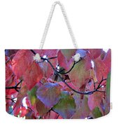 Fall Dogwood Leaf Colors 2 Weekender Tote Bag