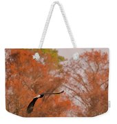 Fall Eagle Weekender Tote Bag