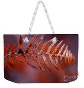 Fall Fern Weekender Tote Bag