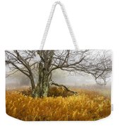 Fall Ferns And Fog Weekender Tote Bag