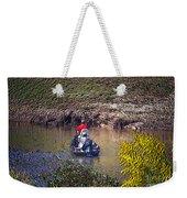 Fall Fishing Weekender Tote Bag