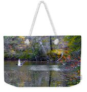 Fall Flight Weekender Tote Bag