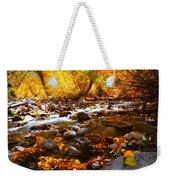 Fall Flow At Mcgee Creek Weekender Tote Bag