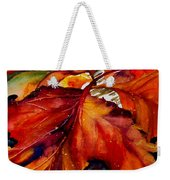 Autumn Dressage Weekender Tote Bag