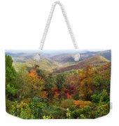Fall Folage 3 Along The Blueridge Weekender Tote Bag