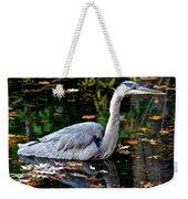 Fall Foliage And Fowl Weekender Tote Bag