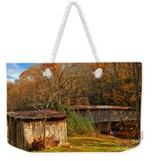 Fall Foliage At Meems Bottom Bridge Weekender Tote Bag