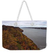 Fall Foliage On The New Jersey Palisades  Weekender Tote Bag