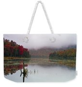Fall Foliage Reflections In Northern Vermont Weekender Tote Bag