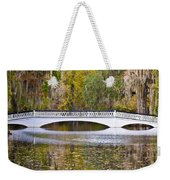 Fall Footbridge Weekender Tote Bag