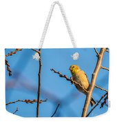 Fall Goldfinch Weekender Tote Bag