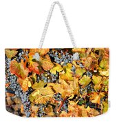 Fall Grapes Weekender Tote Bag