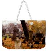 Fall Graveyard  Weekender Tote Bag