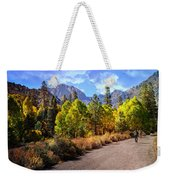 Fall Hiking In The High Sierras Weekender Tote Bag
