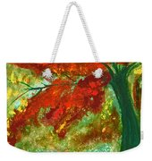 Fall Impression By Jrr Weekender Tote Bag
