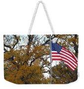 Fall In America Weekender Tote Bag