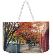 Fall In Downtown Vancouver Washington Weekender Tote Bag