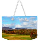 Fall In Rocky Mount Weekender Tote Bag