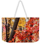 Fall In The Forest Weekender Tote Bag