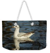 Fall In The Lake In Vienna No.2 Weekender Tote Bag