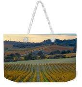 Fall In Wine Country Weekender Tote Bag