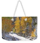 Fall Into Beartrap Meadow - Casper Mountain - Casper Wyoming Weekender Tote Bag