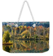 Fall Kaleidoscope Weekender Tote Bag