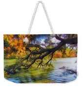 Fall Landscape 4 Weekender Tote Bag