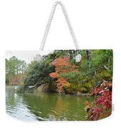 Fall Landscape Around The Lake 2 Weekender Tote Bag